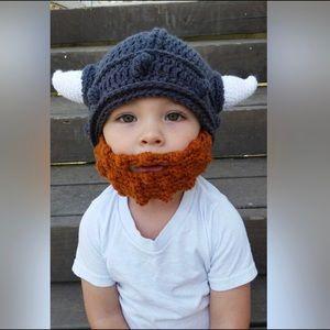 Other - Baby/Toddler Viking Beanie & Beard Costume